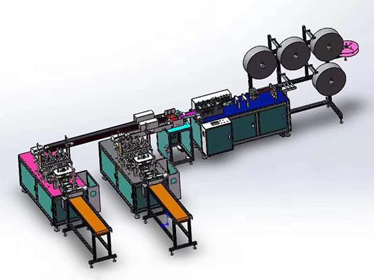 Máquina Automática para Hacer Cubrebocas (Una Más Dos)