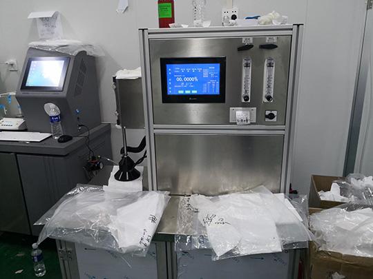 Maquina de Prueba de Tela