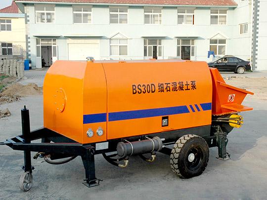 Máquina Bomba Estacionaria De Concreto Eléctrica