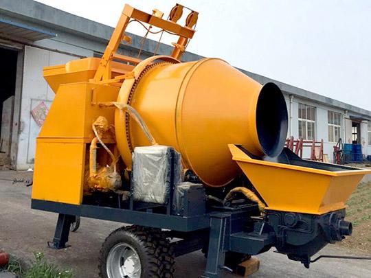 Máquina De Bombeo De Concreto Eléctrica