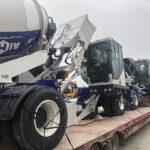 AIMIX Hormigoneras Autocargables Exportadas A Kazajstán