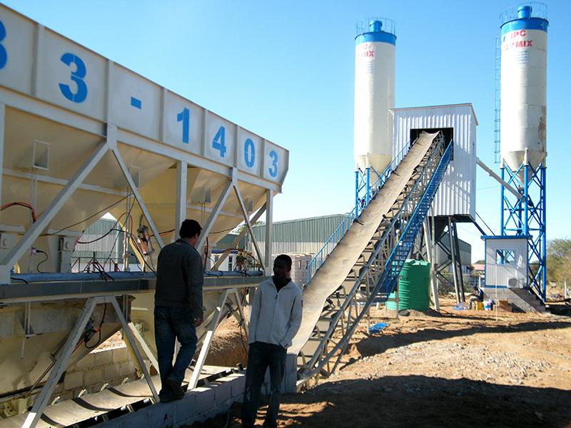 Venta De AJ-60 Planta De Concreto Estacionaria