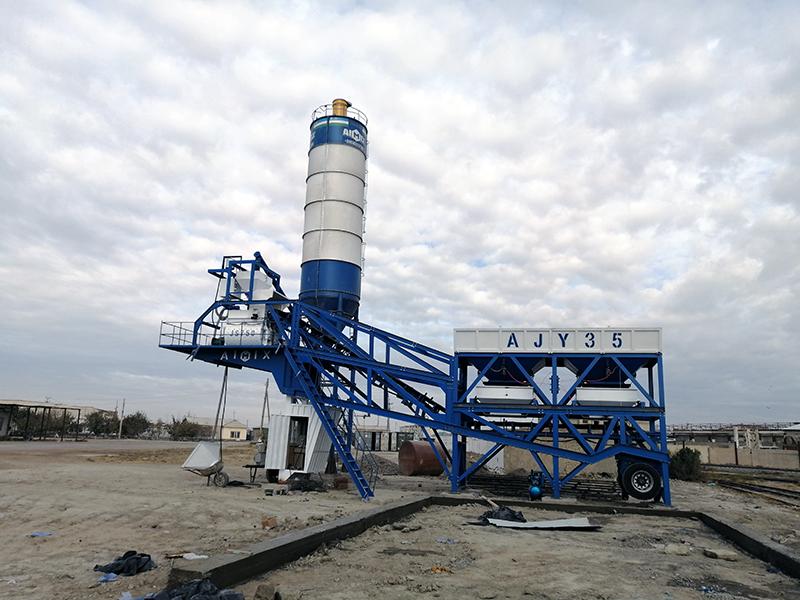 Planta Móvil De Concreto AJ-35