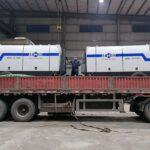 AIMIX Bomba Estacionaria De Concreto Diésel Exportó A Sri Lanka